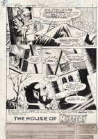 CHAYKIN, HOWARD - House of Mystery #253 pg 1, Cain, Abel and the House of Mystery Comic Art