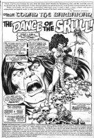 CHAYKIN, HOWARD / CHAN - Conan the Barbarian #82 page 1 Comic Art
