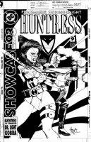 CHAYKIN, HOWARD - Showcase '93 #9 cover, Huntress & Peacekeeper Comic Art