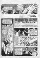 CHAYKIN, HOWIE - Applie Pie #1 pg, Batman music satire 1975 Comic Art