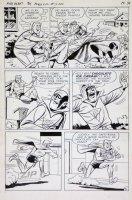 VIGODA, BILL - Archie: Pureheart the Powerful #2 twice-up pg 12, Archie as Superhero Comic Art