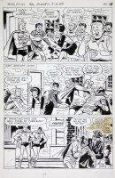 VIGODA, BILL - Archie: Pureheart the Powerful #2 twice-up pg 13, Archie as Superhero Comic Art