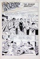 VIGODA, BILL - Archie: Pureheart the Powerful #2 twice-up splash pg 9, Archie as Superhero Comic Art