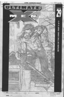 FINCH, DAVID - Ultimate X-Men #29 cover, great, classic pose of Wolverine! Comic Art