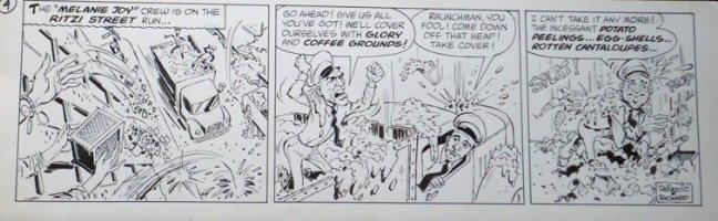 RICKARD, JACK / JERRY DeFUCCIO - Melanie Joy daily #4 Comic Art