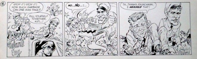 RICKARD, JACK / JERRY DeFUCCIO - Melanie Joy daily #5 Comic Art