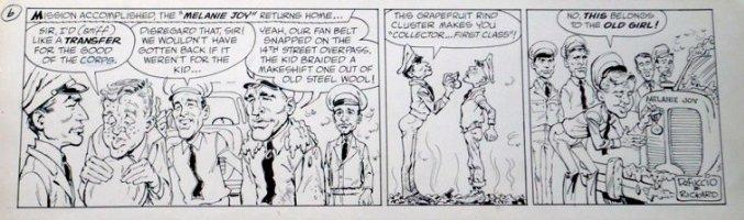 RICKARD, JACK / JERRY DeFUCCIO - Melanie Joy daily #6 Comic Art