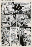 REDONDO, NESTOR - Patchwork Man #2 pg 2,  DC's Swamp Thing spinoff Comic Art