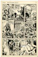 REDONDO, NESTOR - Patchwork Man #2 pg 4, DC's Swamp Thing spinoff Comic Art