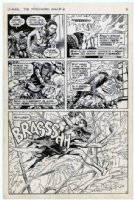 REDONDO, NESTOR - Patchwork Man #2 pg 9, DC's Swamp Thing spinoff Comic Art