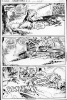 REDONDO, NESTOR - Swamp Thing #19 page 13 - 3 panel page Comic Art
