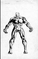 GUICE, BUTCH - Marvel Universe - Avengers ' Nuklu Comic Art