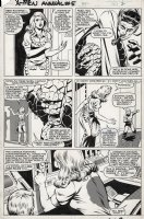 ANDERSON, BRENT / BOB McLEOD - X-Men Annual #5 pg 2,  Fantastic Four members are alerted to an emergency Comic Art