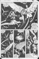 ANDERSON, BRENT - Kazar #3 half splash pg, Kazar Comic Art