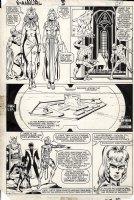 ANDERSON, BRENT / BOB McLEOD - X-Men Annual #5 pg 24, Storm Wolverine Nightcrawler stopping Badoons Comic Art