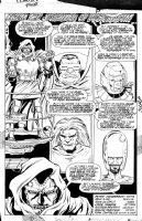 LIM, RON - Fantastic Four Annual #22 Pg 57, Dr Doom story splash Comic Art