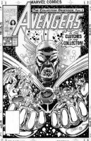 LIM, RON - Avengers #339 cover, Avengers vs Avengers in the clutches of The Collector Comic Art