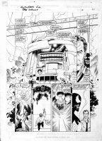 LIM, RON - Avengers GN  The Vault  large-size pg 58, with Venom Comic Art