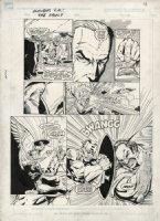 LIM, RON - Avengers GN The Vault #1 large pg 13 - Captain America Comic Art