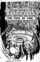 MANNING, RUSS - Tarzan Pool of Time super-large Cover, Tarzan to Caspak 1974 Comic Art