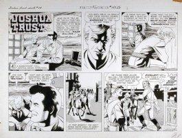 MANNING, RUSS - Joshua Trust Sunday, Joshua in Indian territory - week 14, 1959  Comic Art