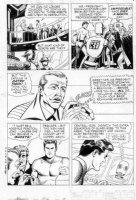 MANNING, RUSS - Magnus Robot Fighter (Gold Key) #9 pg 5, Magnus, the president, robots Comic Art