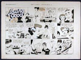 MANNING, RUSS - Laura Good Sunday, week 3 1959 Comic Art