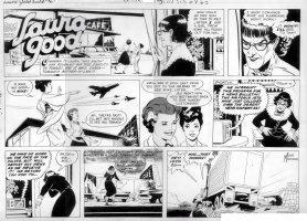 MANNING, RUSS - Laura Good Sunday, week 6 1959 Comic Art