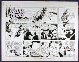 MANNING, RUSS - Laura Good Sunday, week 14 1959 Comic Art