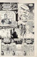 POLLARD, KEITH - Nick Fury, Agent of SHIELD #14 large pg 22, Nick & Yellow Claw Comic Art