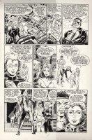 POLLARD, KEITH - Nick Fury, Agent of SHIELD #12 large pg 22, Nick & Kate + LMDs Comic Art