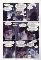 HAMPTON, SCOTT - Books of Magic graphic novel #2 page 25, fully painted page - 1st Tim Hunter story & Constantine Comic Art