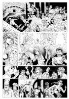 ALLRED, MIKE - Neil Gaiman' METAMORPHO large size DC Sunday #5 Comic Art