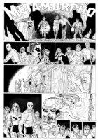 ALLRED, MIKE - Neil Gaiman' METAMORPHO large size DC Sunday #7 Comic Art