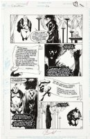 JONES, KELLY / PRATT - Sandman #26 pg, all Sandman, being bribed for Hell Comic Art