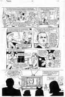 ALLRED, MIKE - Sandman #54 pg 10 - Prez/ Belushi / Reagan Comic Art