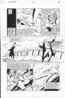 ALLRED, MIKE - Sandman #54 pg 18  - Prez killed Comic Art