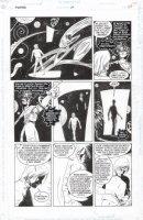ALLRED, MIKE - Sandman #54 pg 23- Sandman saves Prez Comic Art