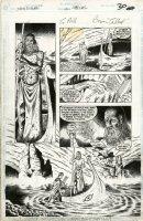 TALBOT, BRYAN - Sandman Special #1 pg 30 - Sandman's 1st Son Morpheus goes to Hades Comic Art