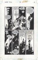 BUCKINGHAM, MARK / BACHALO designs - Neil Gaiman' Death TOYL #3 pg 16, Death, Foxglove & girlfriend Comic Art
