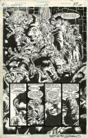 WOCH, STAN - Sandman #29 pg 19 splash with inset panels, 1st Lady Constantine & Sandman' Son Comic Art