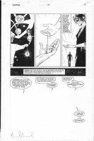 ALLRED, MIKE - Sandman #54 last pg - Sandman saves DC's Teen Prez, signed Comic Art