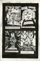 KIETH, SAM - Sandman #5 pg 5, origin of Mr Miracle with Granny Goodness - Jack Kirby New Gods! 1989, Comic Art