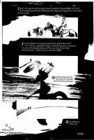 MUTH, JON J - Sandman #74 last page, Master Li exiled to desert, 1995 Comic Art