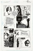 JONES, KELLY - Sandman #26 pg, all Sandman! bribed by Lords of Order for Hell Comic Art