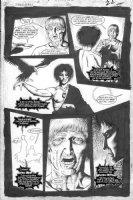 TALBOT, BRYAN - Sandman #30 pg 19 - Sandman & raven + Emperor Augustus Comic Art
