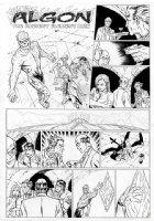 ALLRED, MIKE - Neil Gaiman' Neil Gaiman' METAMORPHO large size DC Sunday #10 Comic Art