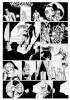 ALLRED, MIKE - Neil Gaiman' METAMORPHO large size DC Sunday #4 Comic Art
