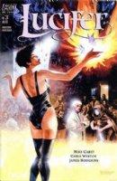 Fegredo, Duncan - Gaiman's Lucifer #3 cover painting, Lucifer, Mazikeen, Jill Presto Comic Art