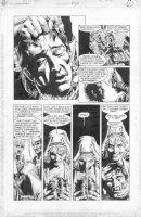 WOCH, STAN - Sandman #29 page 3, 1st Lady Constantine & Sandman' Son Comic Art